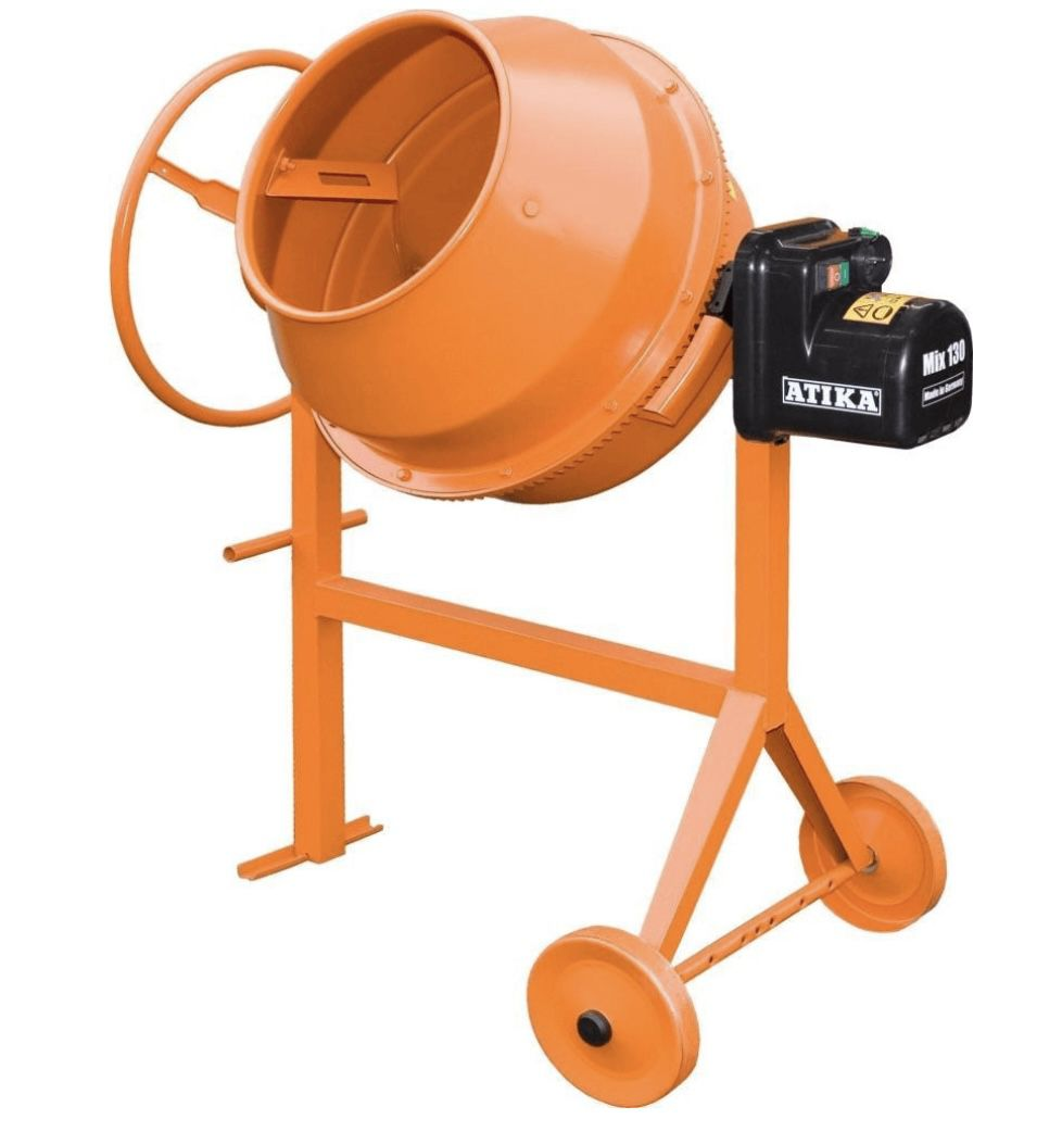 Atika Betonmischer MIX 130 mit 600W ab 209€ (statt 264€)