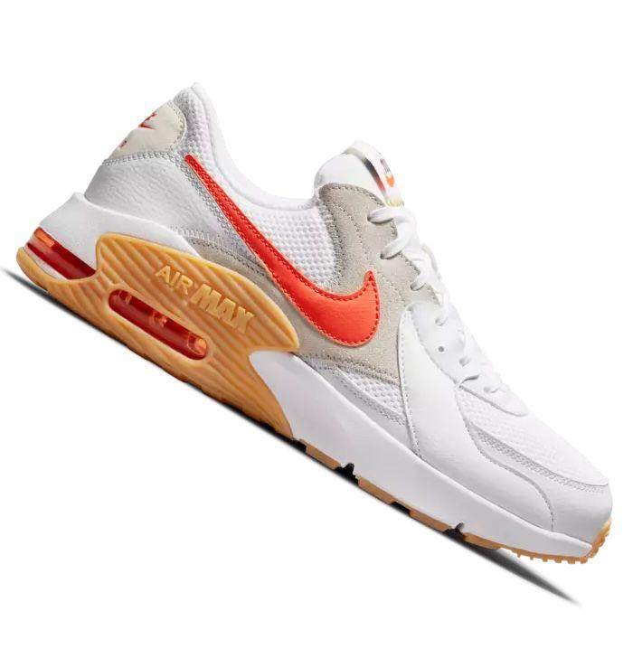 Nike Air Max Excee Sneaker in White/Orange für 79,95€(statt 109€)