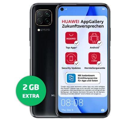 Huawei P40 Lite mit 128GB für 25€ + o2 Allnet-Flat von Blau.de mit 10GB LTE für 9,99€ mtl.