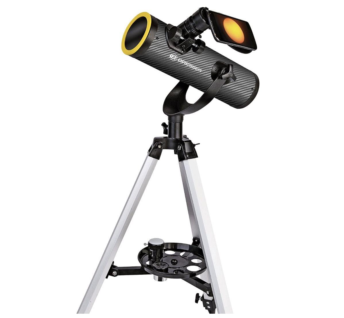 Bresser Teleskop Solarix AZ 76/350 mit Stativ für 60,22€ (statt 76€)