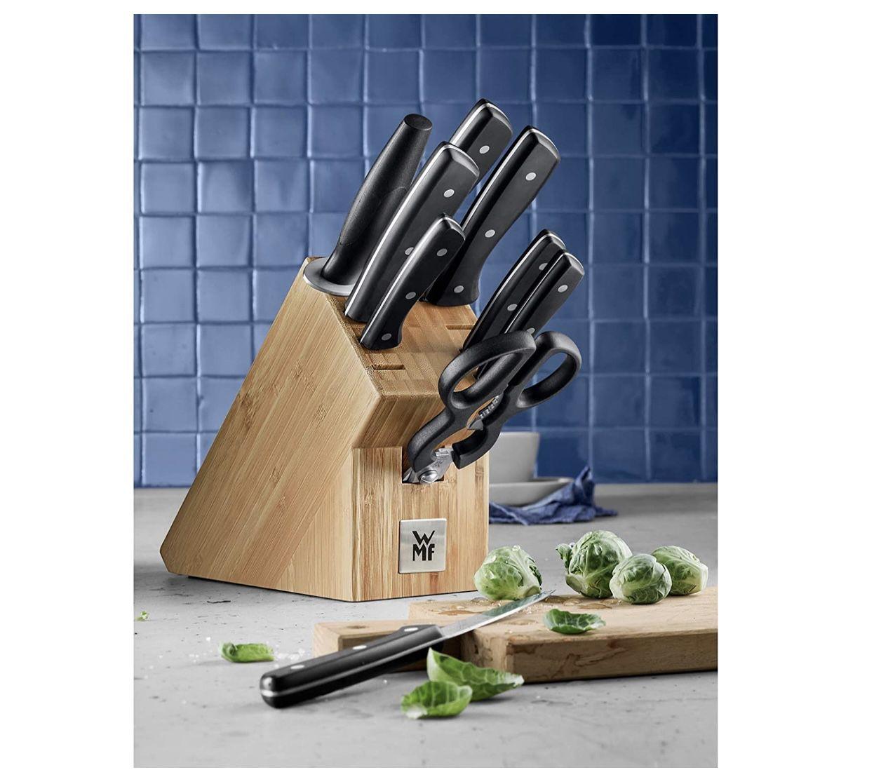 WMF Messerblock Profi Select mit 10 teiligem Messerset aus Spezialklingenstahl für 99€ (statt 130€)