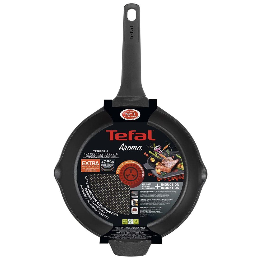 Tefal E21506 Aroma Bratpfanne 28cm mit Titanium-Antihaftversiegelung für 29,19€ (statt 40€)
