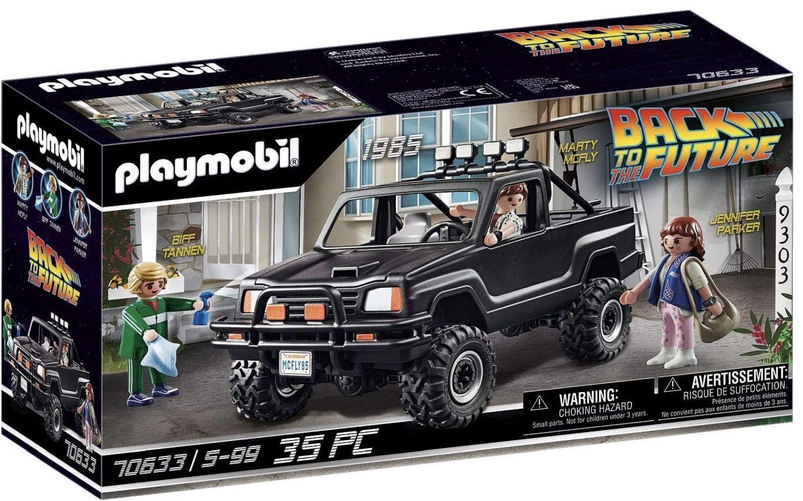 Playmobil 70633 Back to the Future für Kinder ab 5 Jahren für 24,63€ (statt 31€)   Prime