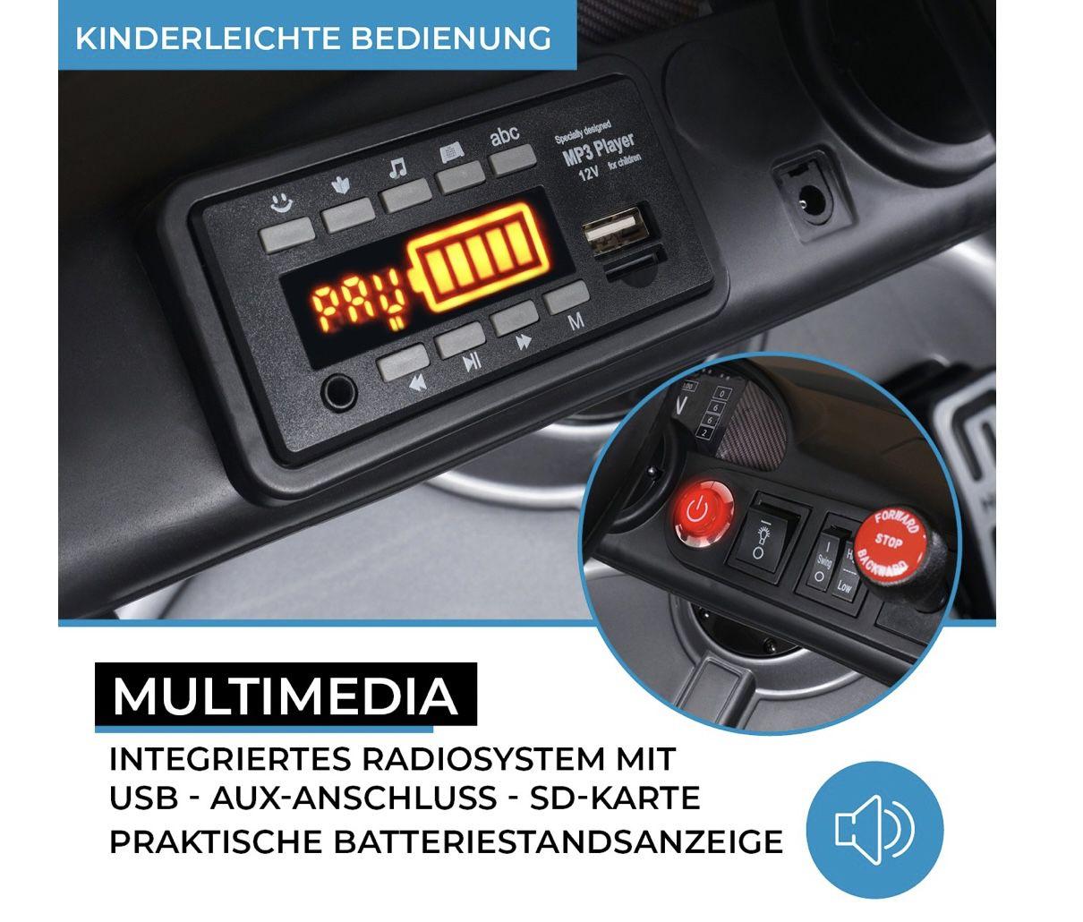 Kinder Elektroauto Mercedes Benz AMG GT4 ab 150€ (statt 265)