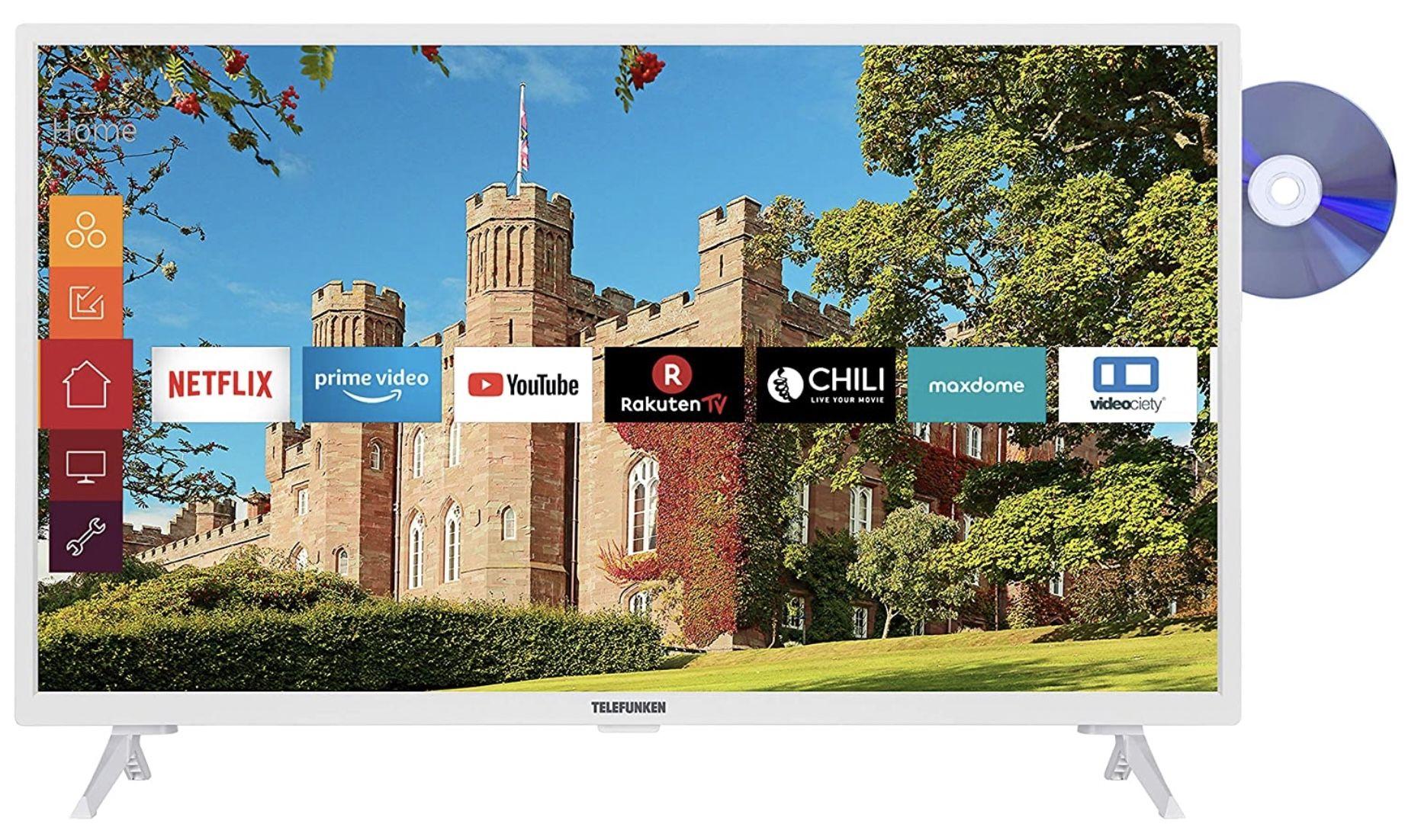 Telefunken XH32J511D W   32 Zoll HD ready Fernseher für 189,29€ (statt 267€)