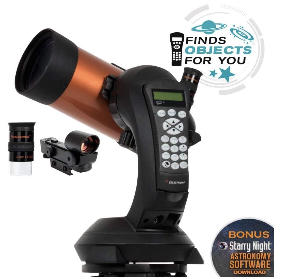Celestron 11049 NexStar 4 SE computergesteuertes Teleskop für 598,33€ (809€)