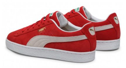 Puma Suede Classic XXL Wildleder Sneaker in Rot für 48,45€ (statt 59€)