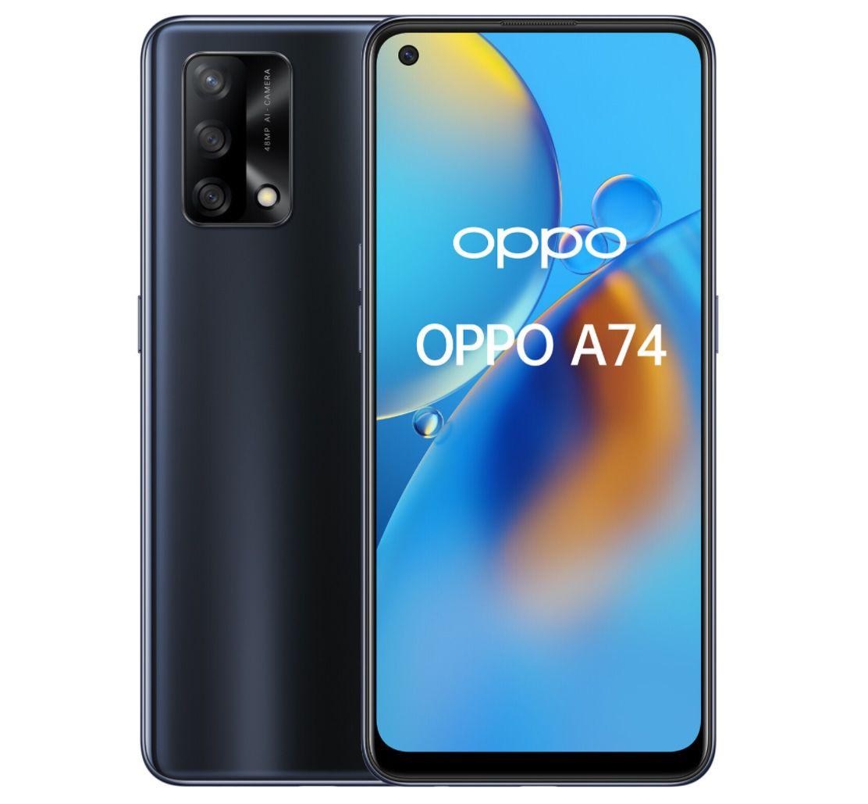 Oppo A74 mit 128GB für 49€ + o2 Allnet Flat mit 6GB LTE für 9,99€ mtl.