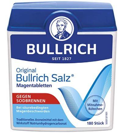 900er Pack Bullrich Salz Magentabletten gegen Sodbrennen für 10€   Prime Sparabo