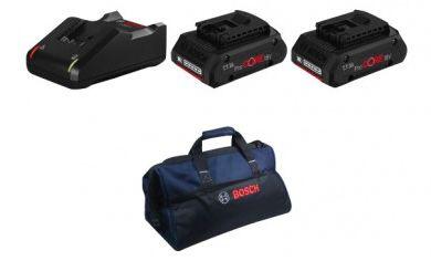 🔥 Bosch Akku Spezialset mit Bohrschrauber, Bohrhammer, Winkelschleifer, Stichsäge uvm. für 779,99€ (statt 1.031€)