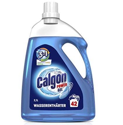 5x Calgon 3in1 Power Gel Waschmaschinen Wasserenthärter für 27,34€ (statt 45€)   Sparabo