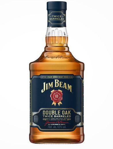 0,7 Liter Jim Beam Double Oak 43% ab 9,99€ (statt 18€)