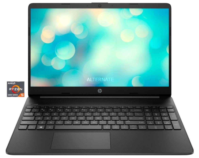 HP 15s eq2152ng   15,6 Zoll Notebook mit Ryzen 5 + 256GB SSD für 389,70€ (statt 429€)