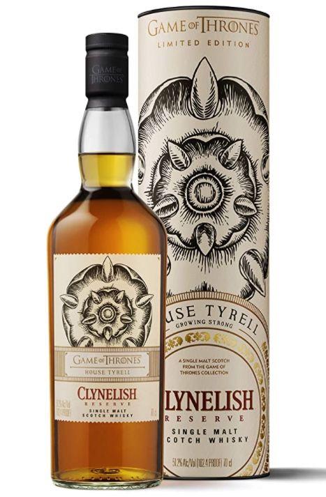 Clynelish Reserve Single Malt Scotch Whisky   Haus Tyrell Game of Thrones Limitierte Edition für 36,63€(statt 51€)  prime