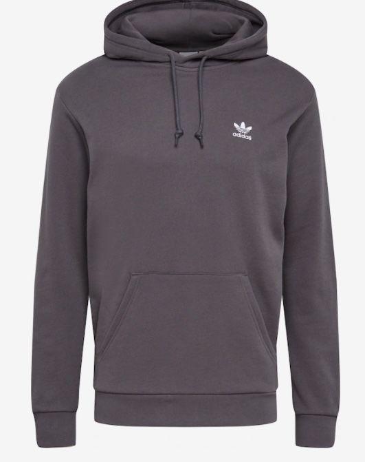 adidas Originals Trefoil Essentials Hoodie in Grau ab 12€ (statt 40€)