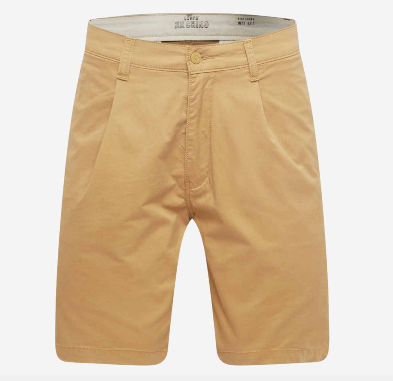 Levis Herren Shorts XX Stay in Blassgelb für 19,16€ (statt 54€)