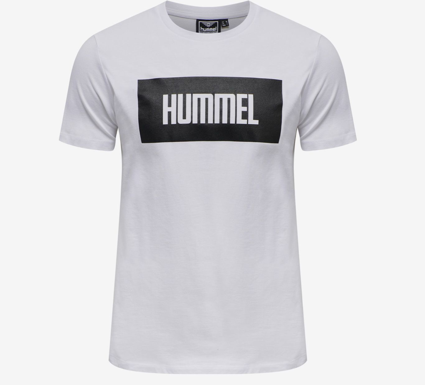 Hummel T Shirts 2er Pack in Schwarz/Weiß für 17,95€ (statt 38€)