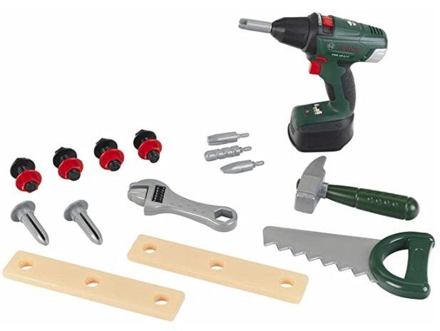 Theo Klein 8520 Bosch Kinder Werkzeug Box für 19,99€ (statt 31€)   Prime