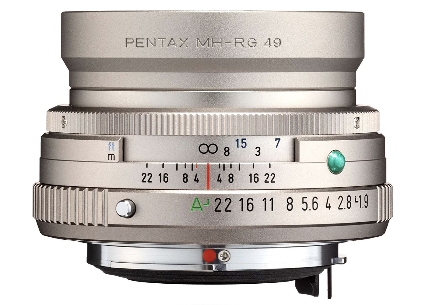 Pentax PENTAX FA 43mm F1.9 Limited Silber Weitwinkelobjektiv für 472,28€ (statt 649€)