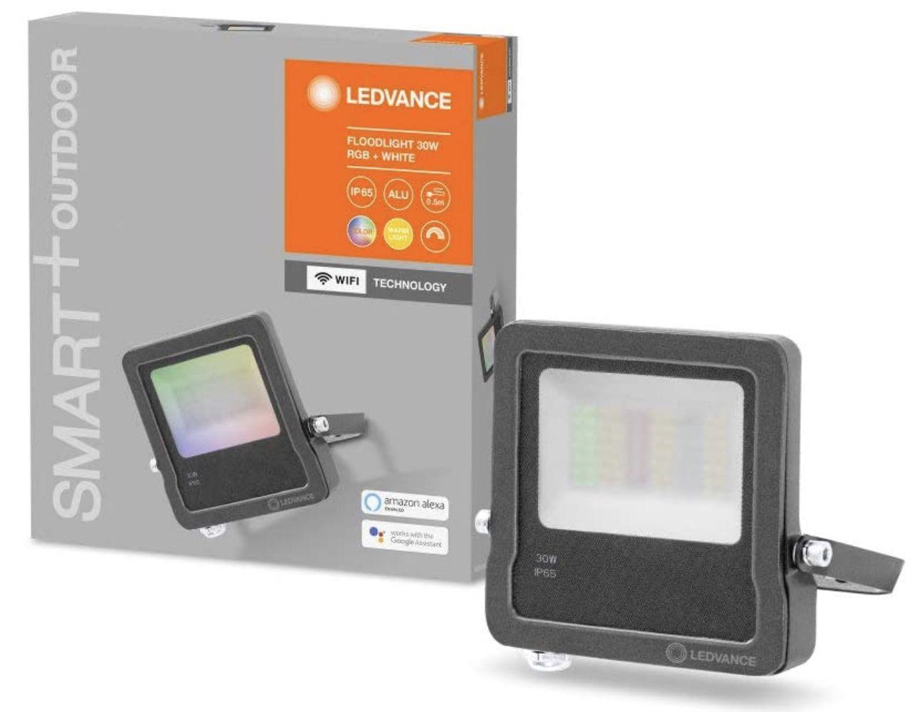 LEDVANCE Smarte LED Aussenleuchte mit WiFi Technologie für 26,24€ (statt 35,15€)