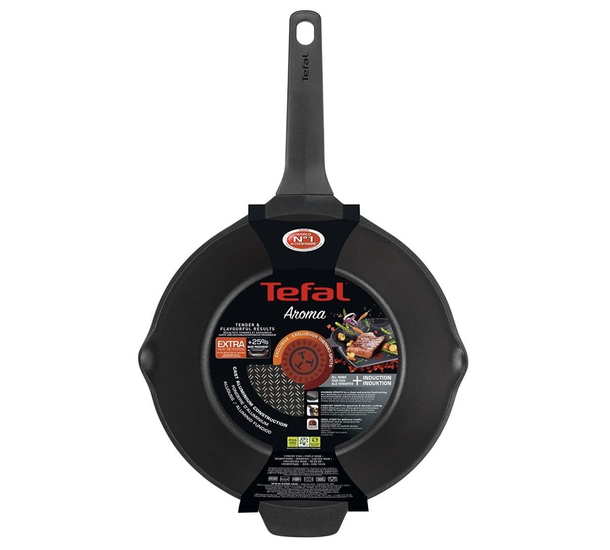 Tefal Aroma E21519 28cm Wokpfanne für 32,10€ (statt 39€)