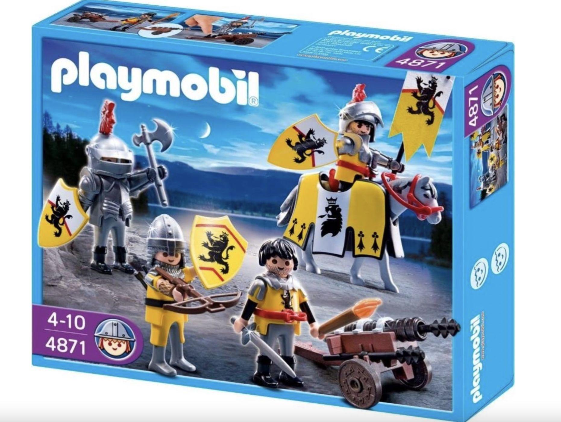 Playmobil 4871 Löwenrittertrupp für 27,98€ (statt 54€)