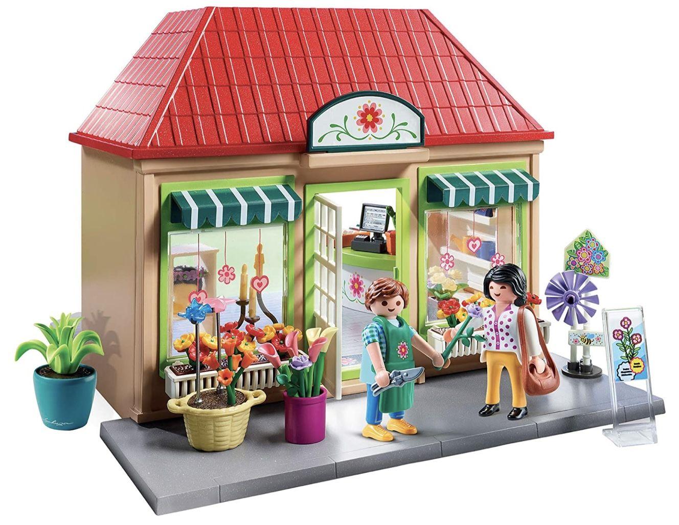 Playmobil 70016 City Life   Mein Blumenladen für 19,98€ (statt 25€)