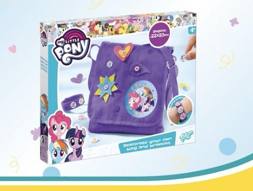 Totum My Little Pony Dekoset Tasche und Armband für 4,88€ (statt 17€)
