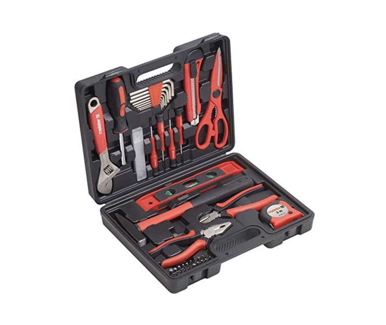 Meister 8971430 Werkzeugkoffer (44 teilig) für 22,89€ (statt 34€)