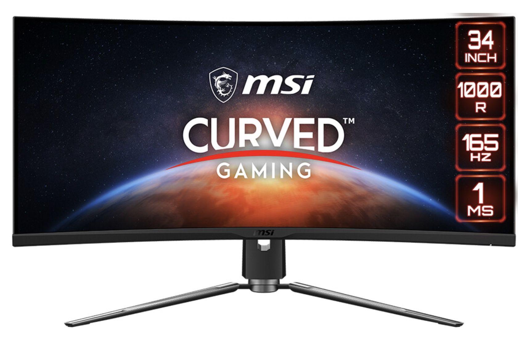 MSI ARTYMIS 343CQRDE   34 Zoll Curved Gaming Monitor für 679€ (statt 807€)