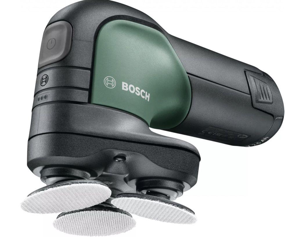 Bosch Schleifer EasyCurv Sander 12 inkl. 1 Akku und Ladegerät für 58€ (statt 80€)