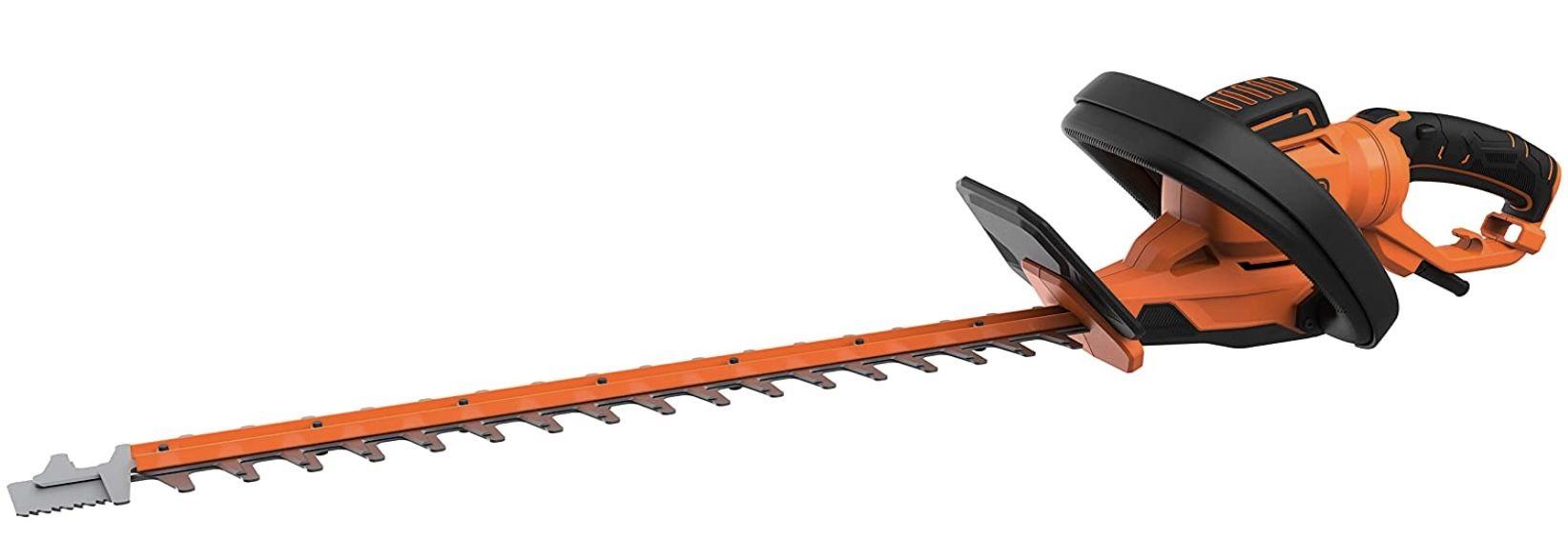 Black+Decker BEHTS551 QS Elektro Heckenschere mit 650W und 60 cm Schwertlänge für 89,17€ (statt 114€)