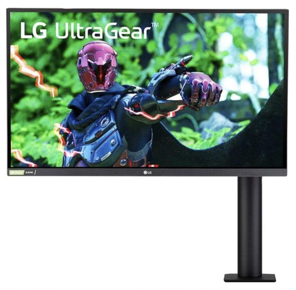 LG 27GN880 B   27 Zoll UltraGear Ergo Gaming Monitor für 306,90€ (statt 342€)