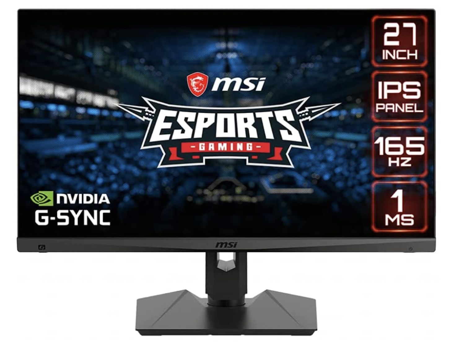 MSI Optix Gaming Monitor MAG274R2   27 Zoll Full HD mit Adaptive Sync für 260,10€ (statt 289€)