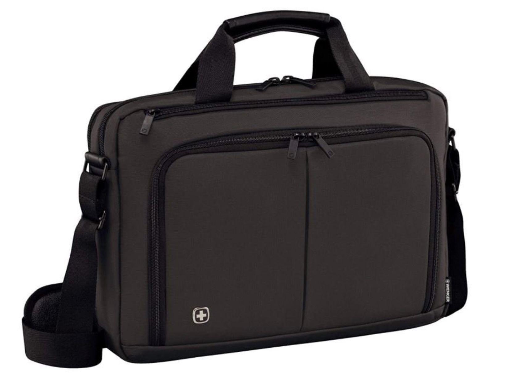 Wenger 601067 Source 15.6 Laptop Aktentasche für 28€ (statt 46€)