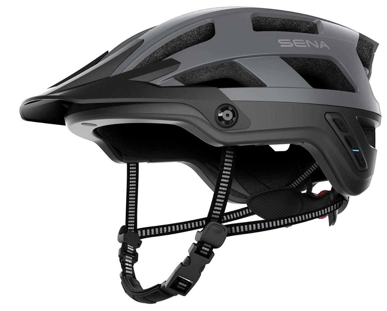 SENA M1 MG00L L Fahrradhelm 58 62 cm in Matt Grau für 116,99€ (statt 169€)