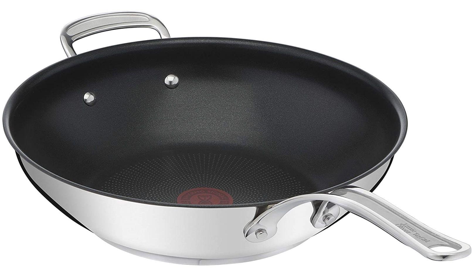Tefal E30688 Jamie Oliver Cooks Classic Wokpfanne mit 30cm für 69,99€ (statt 86€)