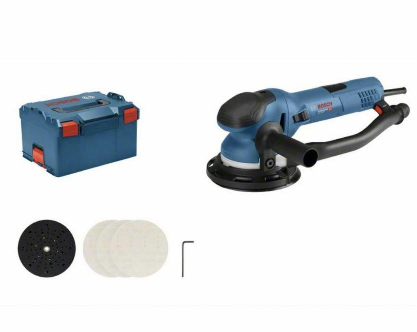 Bosch Exzenterschleifer GET 75-150 inkl. Zubehör in L-BOXX für 275,70€ (statt 322€)