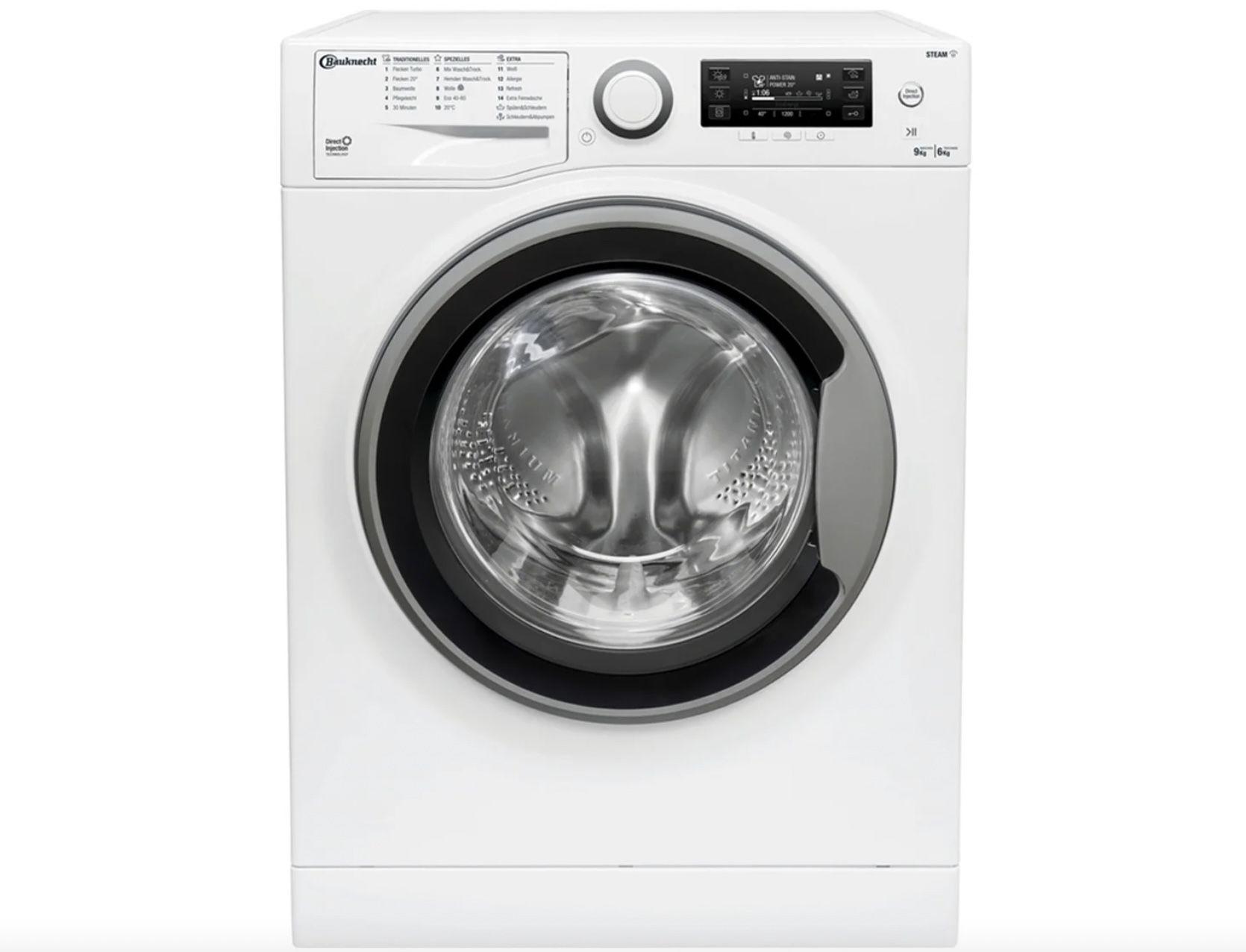 Bauknecht WATK Sense 96L6 DE N Waschtrockner (9 bzw. 6 kg) für 478,95€ (statt 563€)