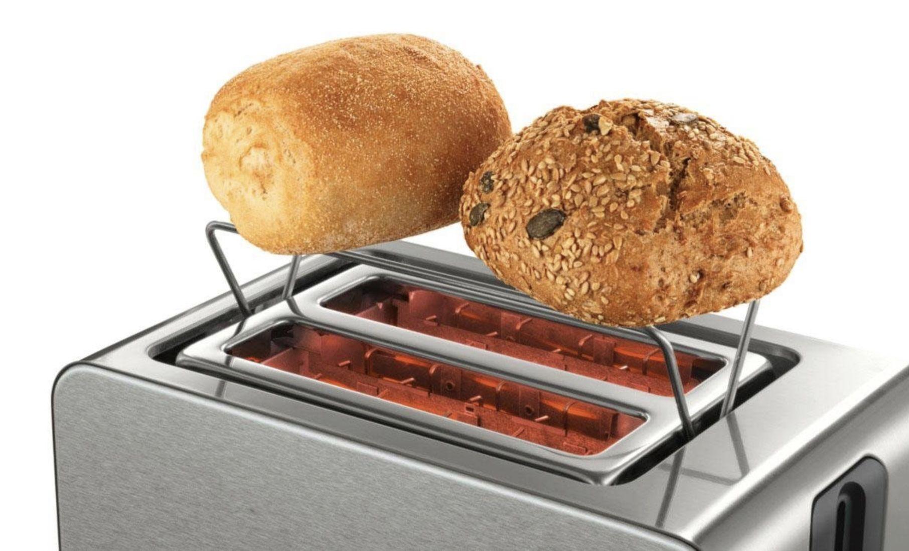 Bosch TAT7S25 Kompakt Toaster mit Auftau/Aufknusperfunktion für 37,94€ (statt 56€)