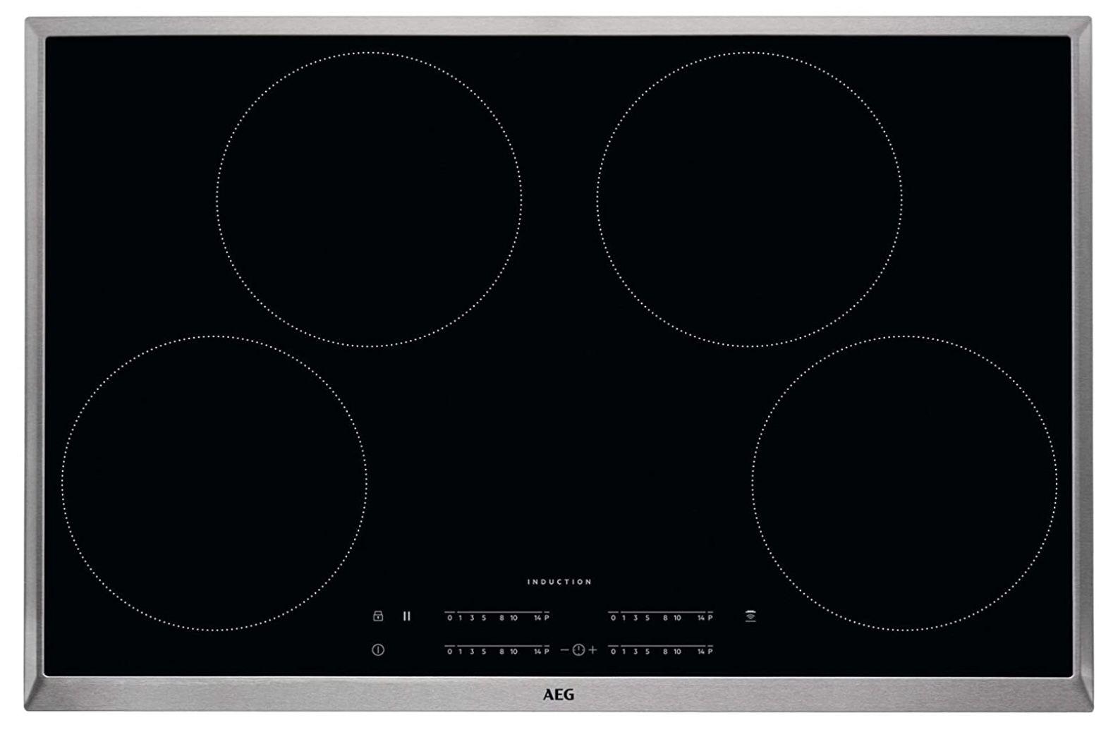 AEG IKB8443AXB Induktions Kochfeld mit Hob²Hood Funktion Breite für 349€ (statt 519€)