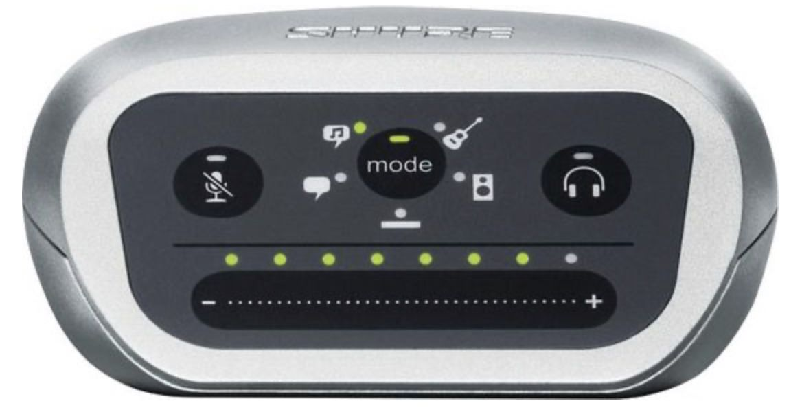 Shure Motiv MVi Audio Interface Digitales Aufnahmegerät für 82,95€ (statt 115€)