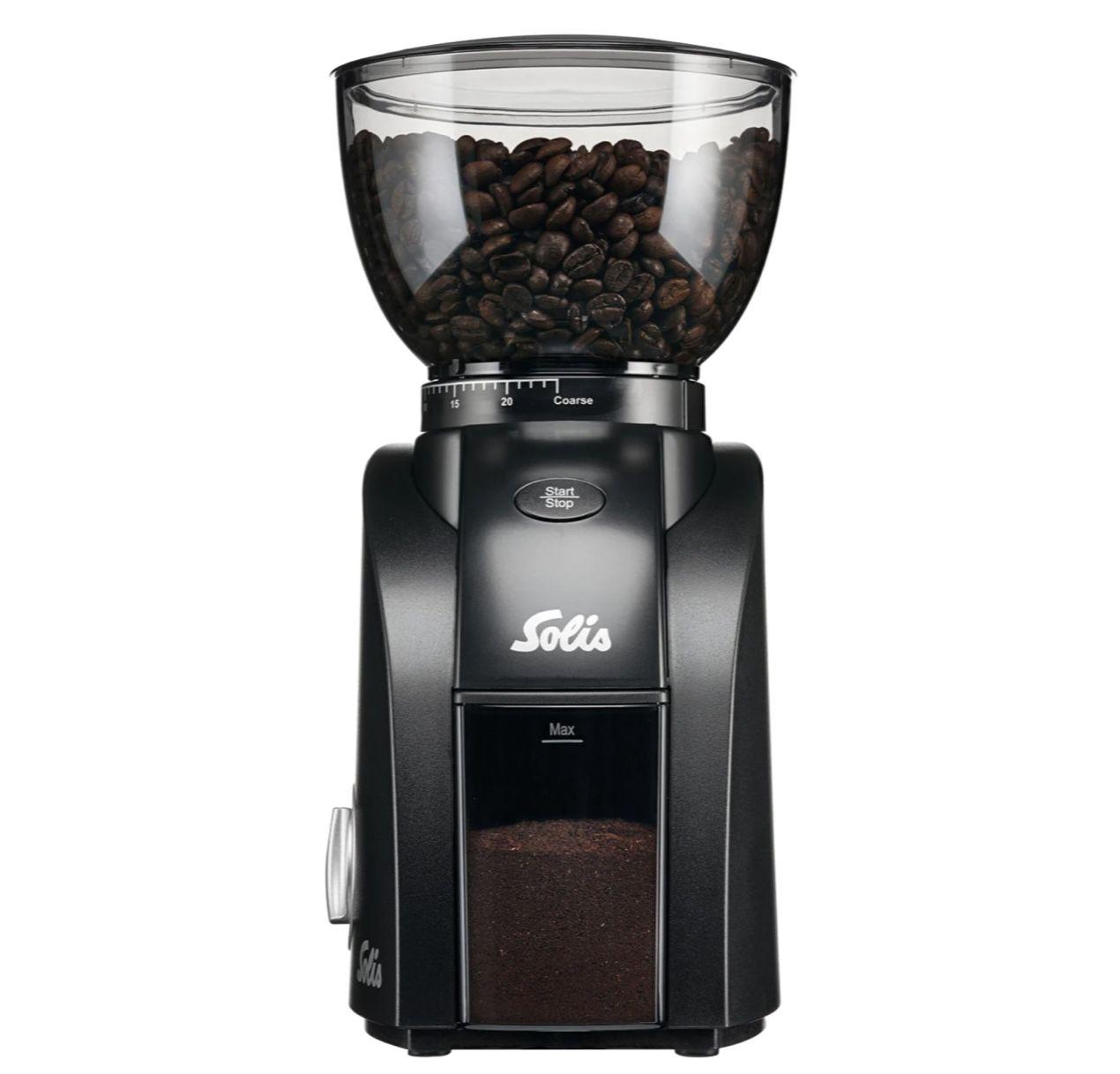 Solis Scala Zero Static Kaffeemühle in Schwarz für 89,90€ (statt 115€)