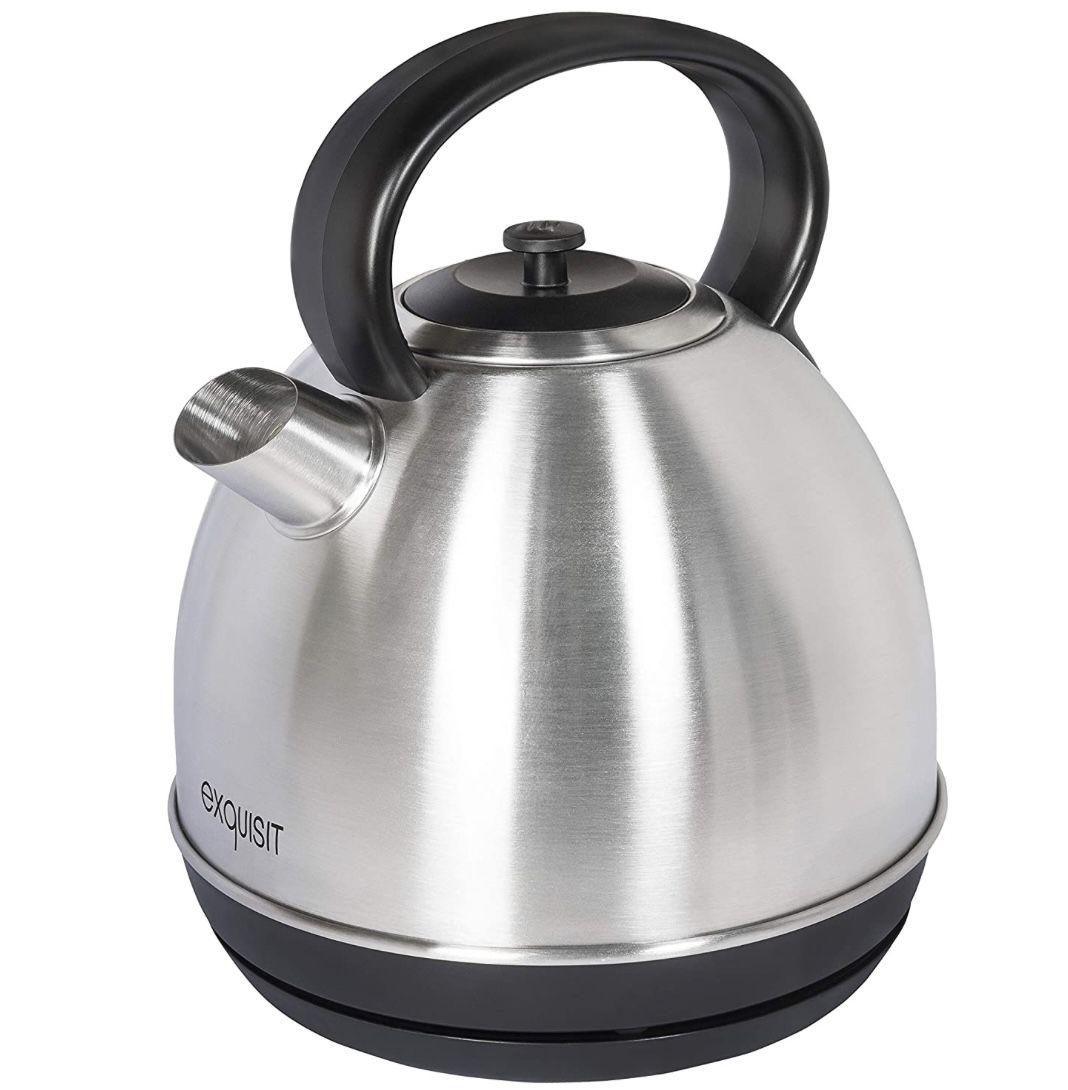 Exquisit WK 6101 1,7L Wasserkocher mit 2200 Watt für 24,95€ (statt 39€)