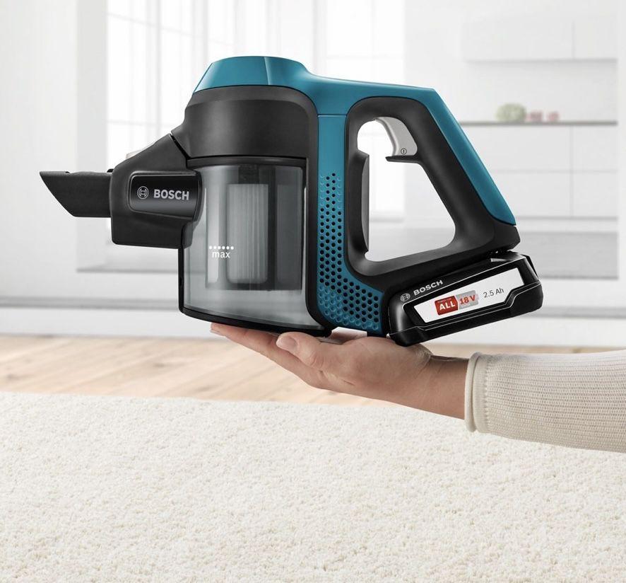 Bosch BKS6111P 18V beutelloser Akku Staubsauger mit Hygiene Filter ab 170,89€ (statt 217€)