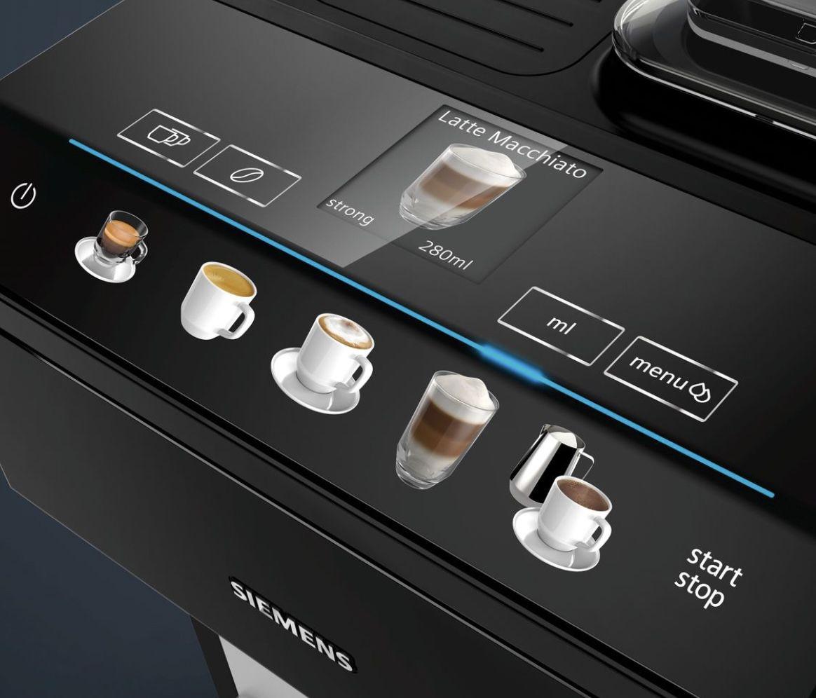 Siemens EQ.500 TP503R09 Kaffeevollautomat in Schwarz für 432,66€ (statt 576€)