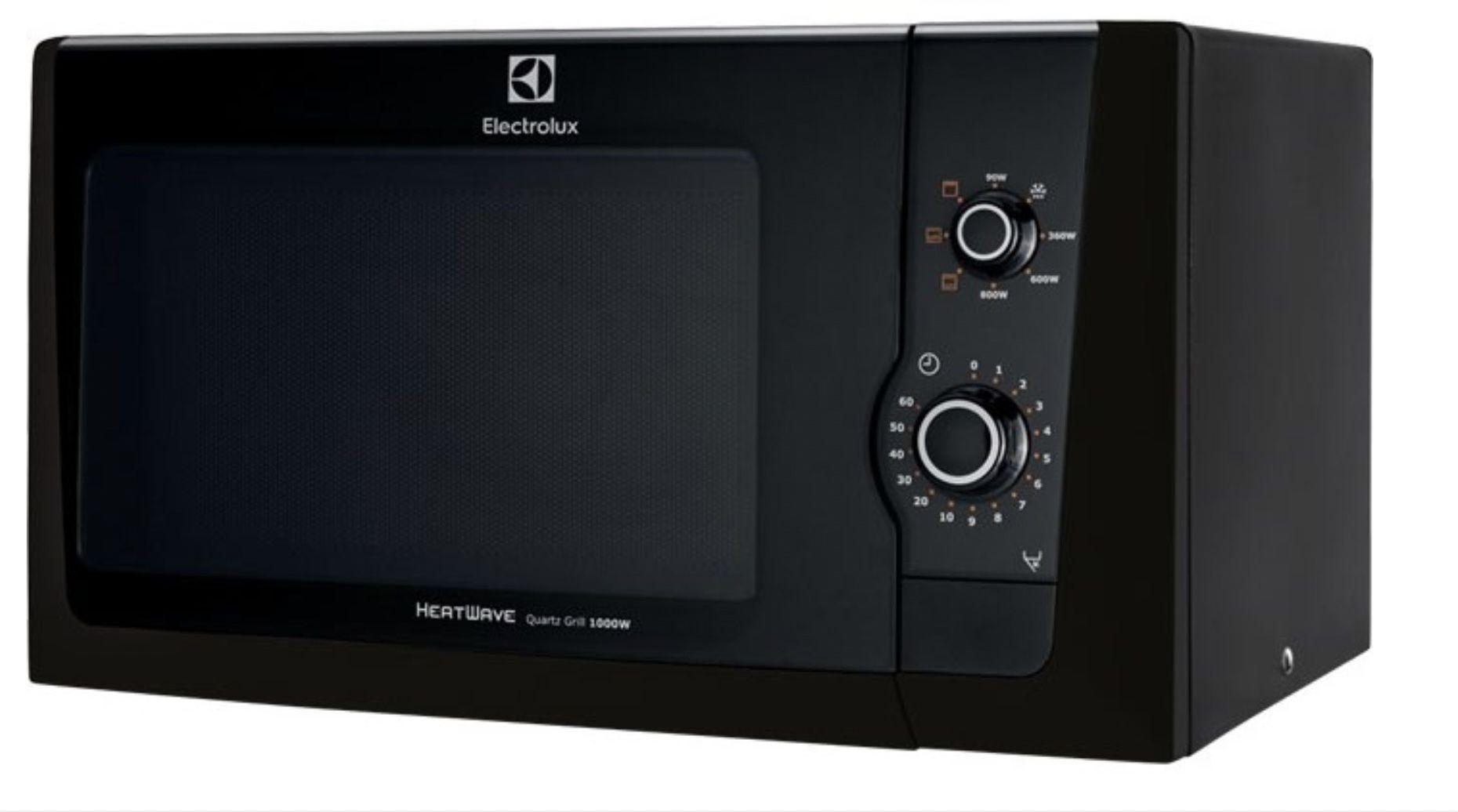 Electrolux EMM21150K 21L Mikrowelle mit 800 W und Grillfunktion für 83,85€ (statt 104€)