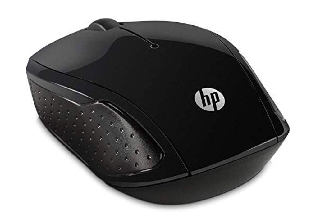 HP 200 (X6W31AA) kabellose Maus mit 3 Tasten und Scrollrad in Schwarz für 5,19€ (statt 16€)   Prime