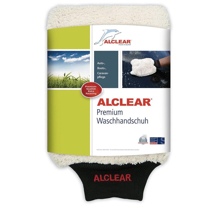 ALCLEAR 950013WH Mikrofaser Handschuh zum Autowaschen für 7,49€ (statt 14€)   Prime