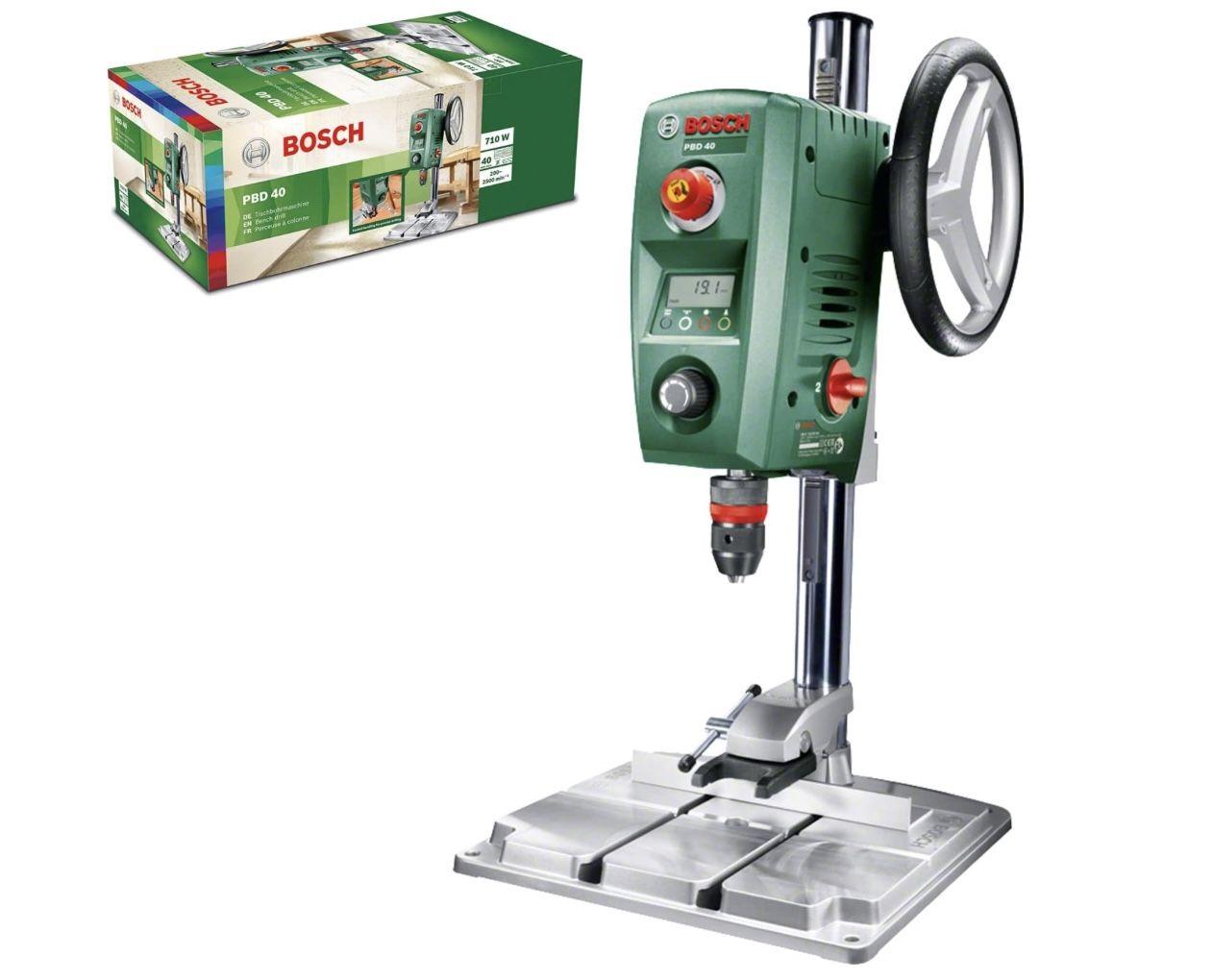 Bosch PBD 40 Tischbohrmaschine mit 710 W für 209,24€ (statt 244€)